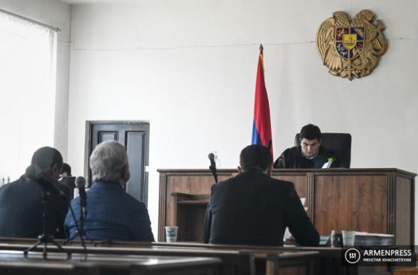 Суд отклонил ходатайство об отмене ареста на имущество Сержа Саргсяна (видео)