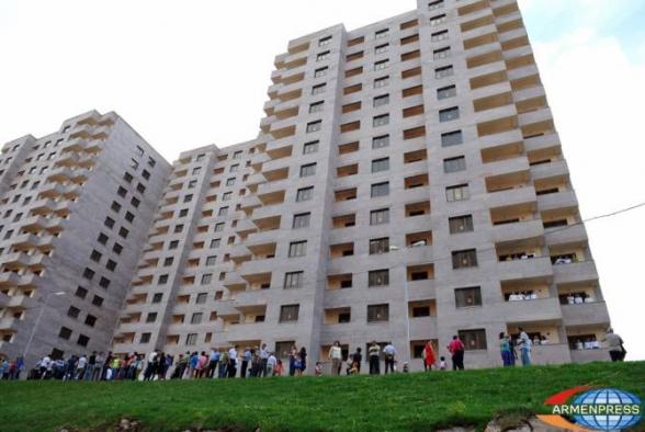 Երևանում բնակարանների շուկայական միջին գները նվազել են
