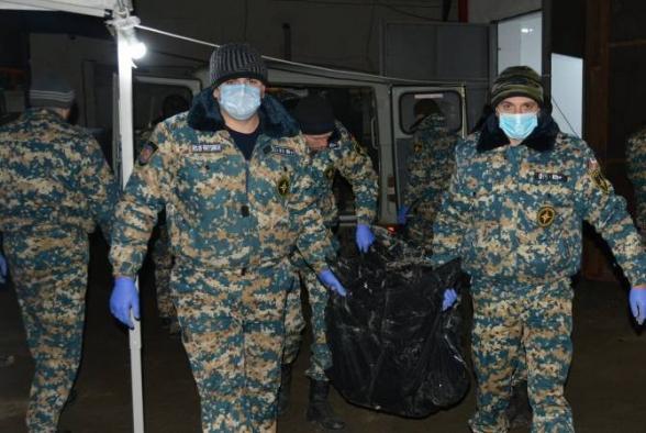 В результате поисковых работ в Джракане обнаружены тела 7 военнослужащих