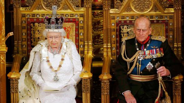 Скончался супруг Елизаветы II (видео)