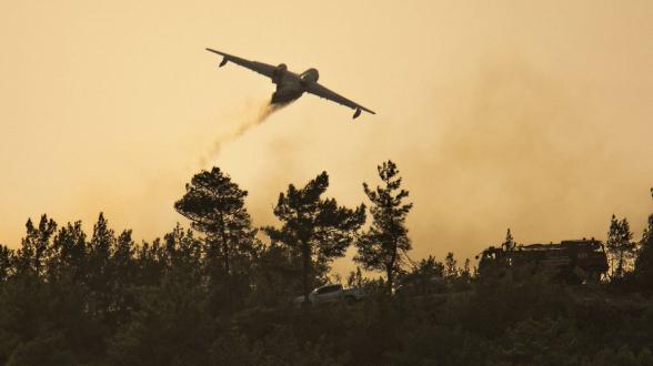 Թուրքիայում կրկին ռազմաուսումնական ինքնաթիռ է կործանվել