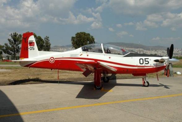 Թուրքիայում ռազմաուսումնական ինքնաթիռ է կործանվել
