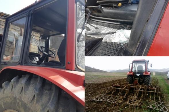 Ադրբեջանցիների կրակոցներից հետո գյուղացիները վախենում են գնալ ու աշխատել դաշտերում. Սարուշենի գյուղապետ