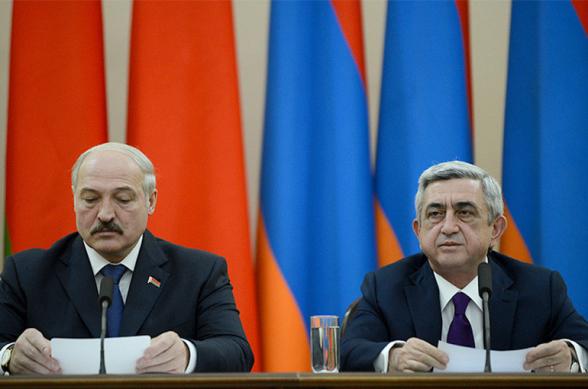 Через некоторое время окажется, что Минск – древний азербайджанский город, а белорусского народа не существовало – Серж Саргсян