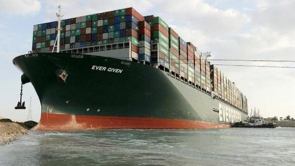 Египет конфисковал судно, блокировавшее Суэцкий канал