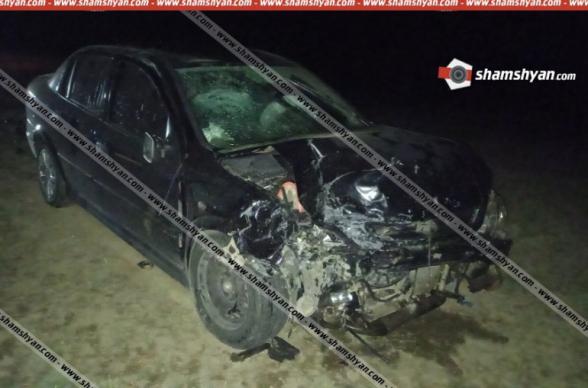 Գեղարքունիքիքում բախվել են Opel և ВАЗ 21150 ավտոմեքենաները. կա 5 վիրավոր