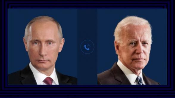 Путин и Байден обсуждали попытку переворота в Белоруссии