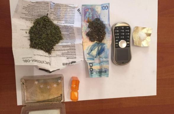 «Սևան» ՔԿՀ-ի ծառայողները հերթական շրջայցի ժամանակ հայտնաբերել են թմրամիջոցների ներնետված փաթեթ