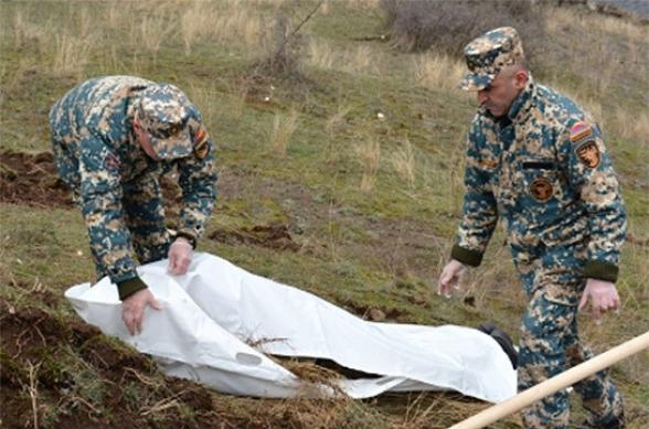 Հայտնաբերվել է ևս 2 հայ զինծառայողի աճյուն