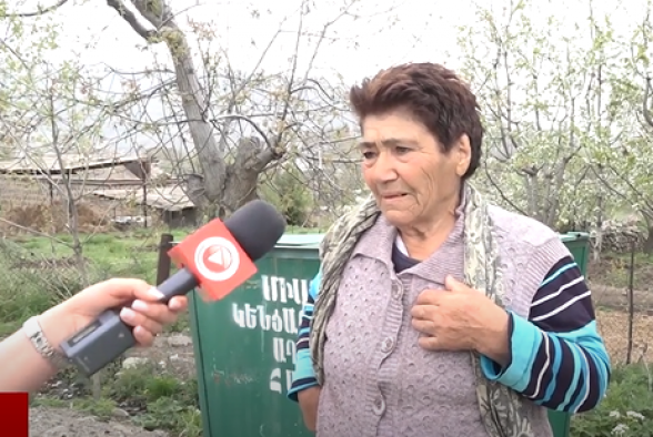 Жительница Ринда: «Ночью поспешно начали асфальтировать дорогу, ждали Пашиняна» (видео)