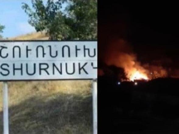 Կարմիր բերետավորներն առավոտյան բերման են ենթարկել Շուռնուխի իր տունը վառած Արարատին