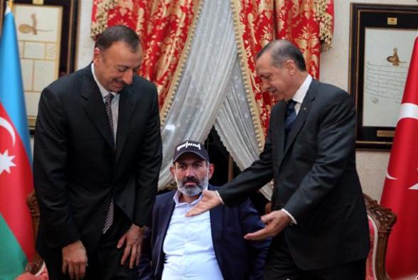 Нынешняя власть в Ереване полностью устраивает Баку и Анкару, приводя в действия план по окончательному решению армянского вопроса