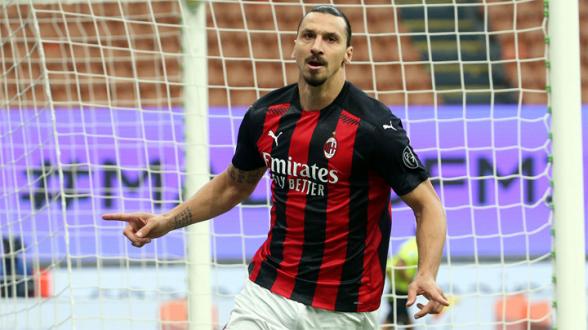 «Милан» объявил о продлении контракта с 39-летним Ибрагимовичем