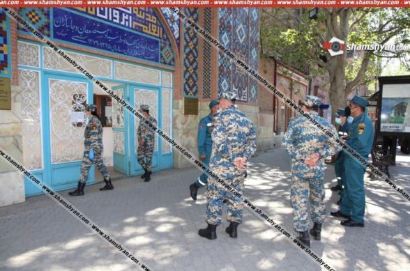 Արտակարգ դեպք` Երևանում. ահազանգողը ներկայացել է, որ ինքը չեչեն է և գտնվում է «Կապույտ մզկիթի մոտ», որտեղ ահաբեկչություն է կատարելու