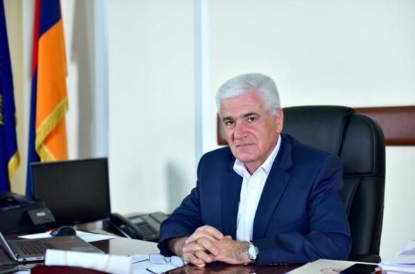 ԵՊՀ ռեկտորի ժ.պ. Գեղամ Գևորգյանը հրաժարականի դիմում է ներկայացրել