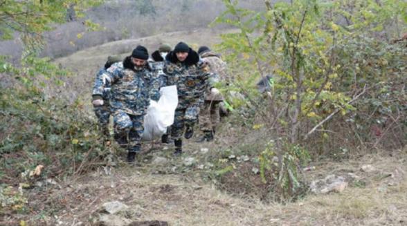 Հադրութի շրջանից տարհանվել է 2 հայ զինծառայողի աճյուն, ևս  3 աճյուն ադրբեջանական կողմը Մարտակերտի ուղղությունից փոխանցել է հայկական կողմին
