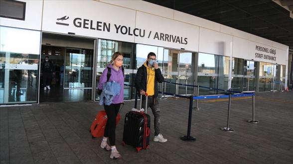 2021թ․ առաջին եռամսյակում Թուրքիա այցելած զբոսաշրջիկների թիվը նվազել է 53.92 տոկոսով