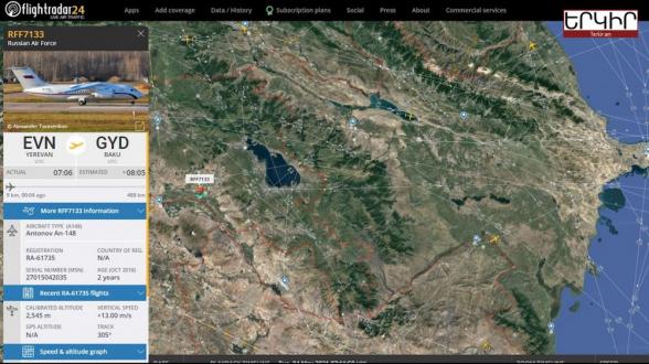 Երևան-Բաքու ուղիղ չվերթ․ ի՞նչ օդանավ է Երևանից մեկնել թշնամի երկիր (տեսանյութ)