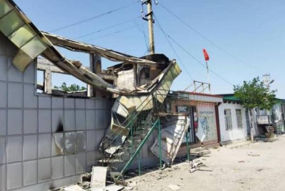 Ղրղզստանում ավելի քան 200 օբյեկտ Է ավերվել սահմանի վրա հակամարտության ընթացքում