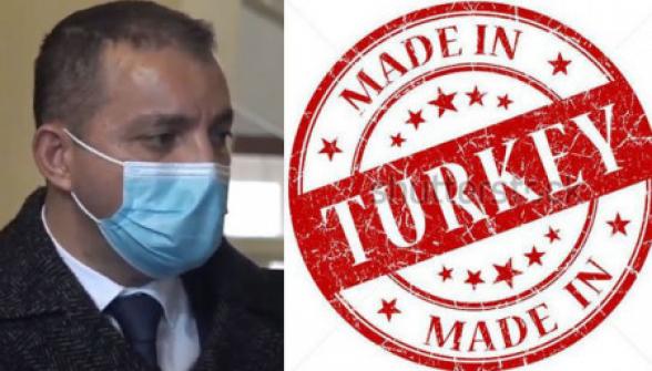 Ես չեմ խոստացել, որ թուրքական ապրանքների վաճառքը կարգելվի. Վահան Քերոբյան
