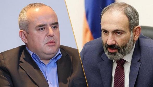 Տիգրան Աթանեսյանը դատի է տվել Նիկոլ Փաշինյանին