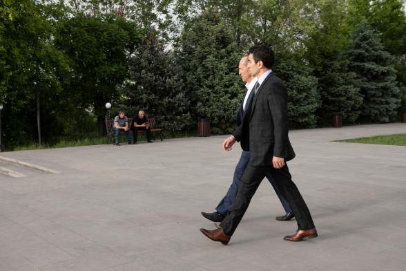 Роберт Кочарян посетил Ераблур (фото)