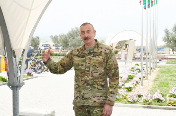 Ալիևը ռազմական օդանավակայան է բացել Նախիջևանում` Հայաստանի հետ սահմանին
