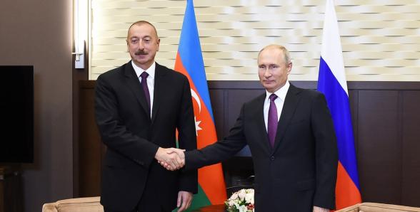 Путин провел телефонный разговор с Алиевым