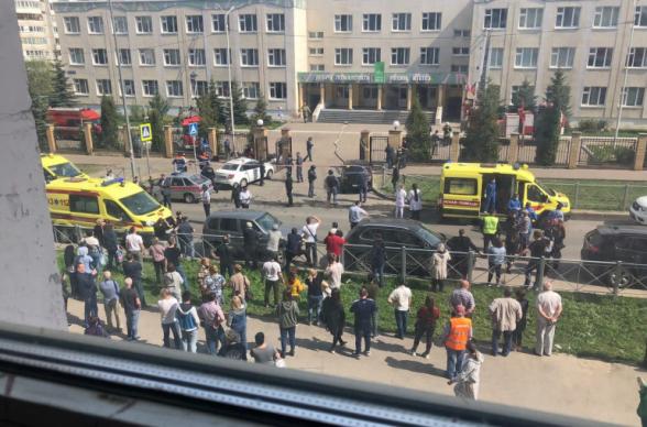 В Казани при стрельбе в школе погибли 9 человек (видео, фото)