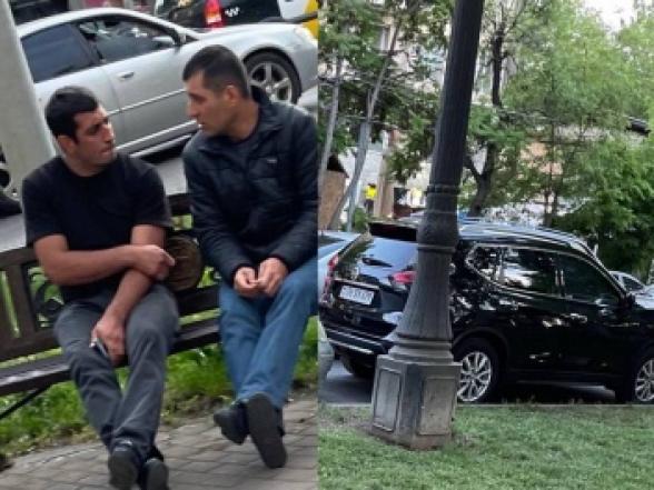 Աբովյան 26 հասցեում գարեջուր վաճառող Աշոտ Փաշինյանի անվտանգությունն ապահովում է 4 ախրանիկ