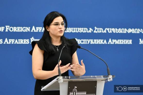 РА надеется, что Азербайджан прислушается к международным призывам вывести войска с территории РА