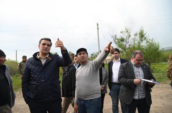 Школа и село Кут оказались под прямым прицелом азербайджанских ВС – омбудсмен