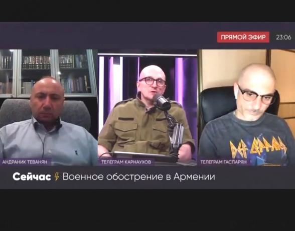 Никол Пашинян нелегитимен – Андраник Теванян (видео)