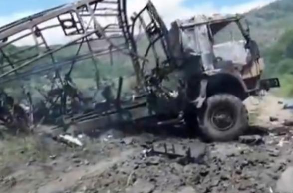 В результате подрыва на мине в Карвачаре погибли азербайджанские журналисты