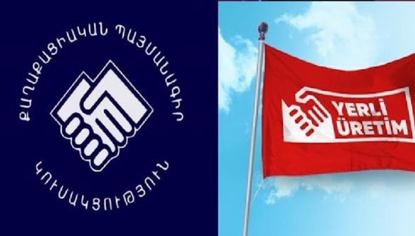 «Քաղաքացիական պայմանագիր» կուսակցության խորհրդանիշը ևս թուրքական է