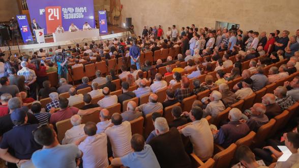 «Հայաստան» դաշինքի հանդիպումը Չարենցավանում (տեսանյութ, լուսանկար)