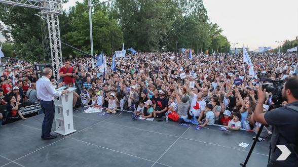 «Հայաստան» դաշինքի հանդիպումը Էրեբունի վարչական շրջանում (տեսանյութ, լուսանկար)
