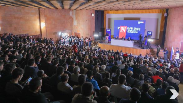Предвыборная встреча блока «Армения» в Дилижане (видео, фото)