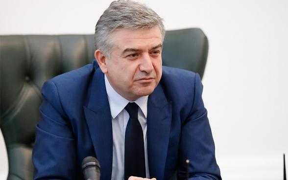 Карен Карапетян выразил поддержку Роберту Кочаряну