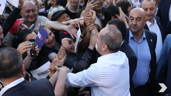 «Հայաստան» դաշինքն այսօր հանրահավաք կանցկացնի Շենգավիթ վարչական շրջանում