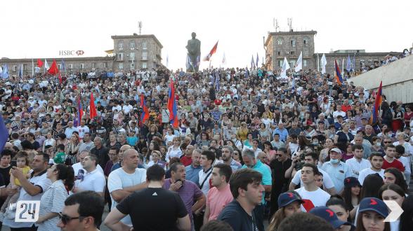 «Հայաստան» դաշինքի հանրահավաքը Շենգավիթում (տեսանյութ)