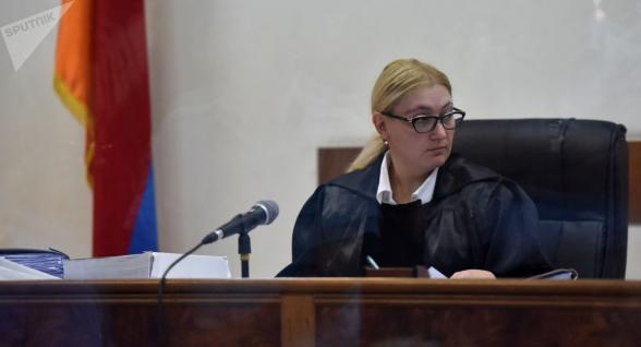 Աննա Դանիբեկյանը դատական նիստը հետաձգեց մինչև հունիսի 29-ը (տեսանյութ)