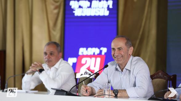 Предвыборная встреча блока «Армения» в Авшаре (видео, фото)