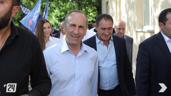 Предвыборная встреча блока «Армения» в Амасии (видео, фото)