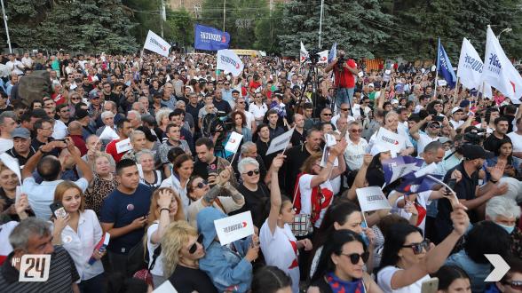 Лучшие моменты 8-го дня агиткампании блока «Армения»