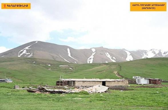 9 азербайджанских военнослужащих украли корову и теленка у пастуха в Верин Шоржа
