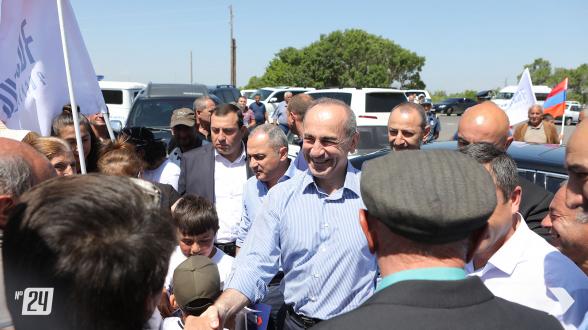 Предвыборная встреча блока «Армения» в общине Шоржа (фото)