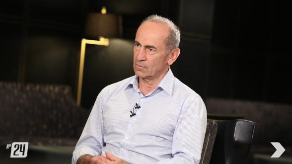 Интервью Роберта Кочаряна телеканалу «Шант» (видео)