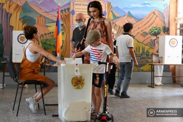ԱԺ արտահերթ ընտրություններին մասնակցել է ընտրողների 49,4 տոկոսը. ԿԸՀ-ն հայտնել է նախնական տվյալները