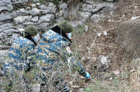 Վարանդայի (Ֆիզուլի) շրջանում հայտնաբերվել է ևս մեկ աճյուն